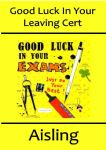 Good Luck Exams Card Design 1